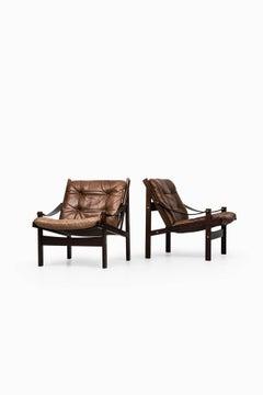Easy Chairs Model Hunter Designed by Torbjørn Afdal Produced by Bruksbo