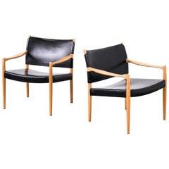 """Easy Chairs Model """"Premiär"""" by Per-Olof Scotte for Ikea, Sweden"""