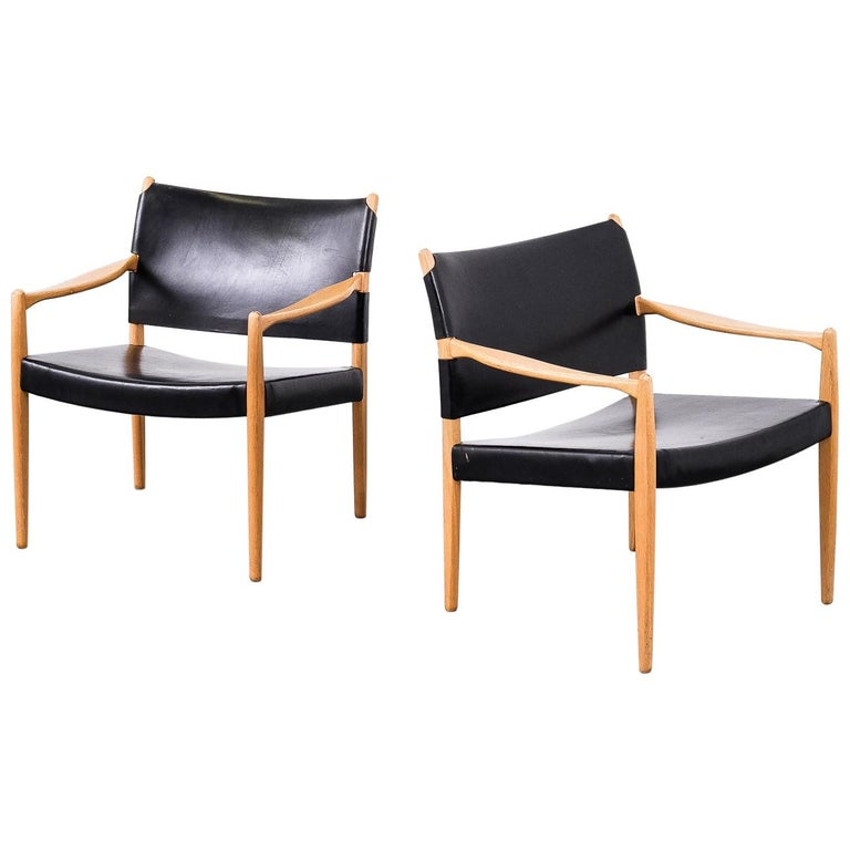 "Easy Chairs Model ""Premiär"" by Per-Olof Scotte for Ikea, Sweden"