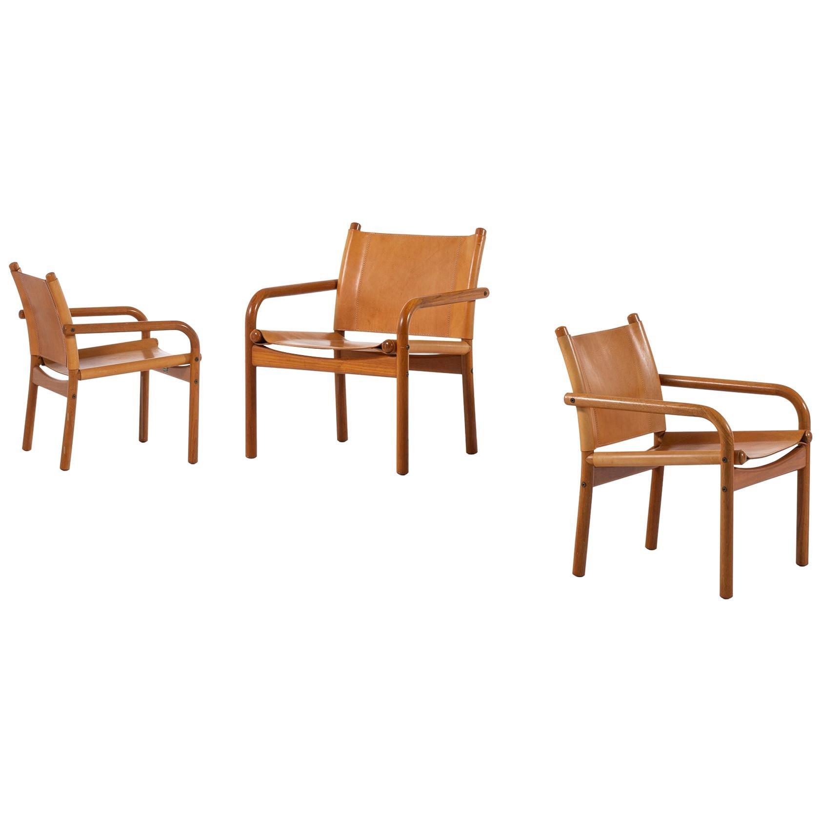 Easy Chairs Produced by Bernstorffsminde Møbelfabrik in Denmark