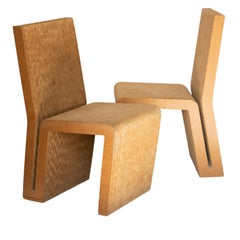 Easy Edges Cardboard Chair by Frank Gehry, Early 1970s Model