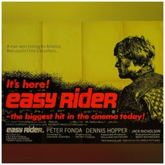 """Easy Rider"", '1969' Poster"