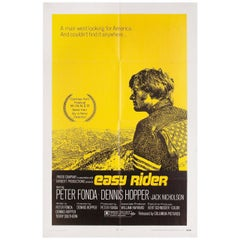 "'Easy Rider"" 1969 U.S. One Sheet Film Poster"