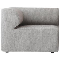 Eave Modular Sofa, Corner, Grey Fabric