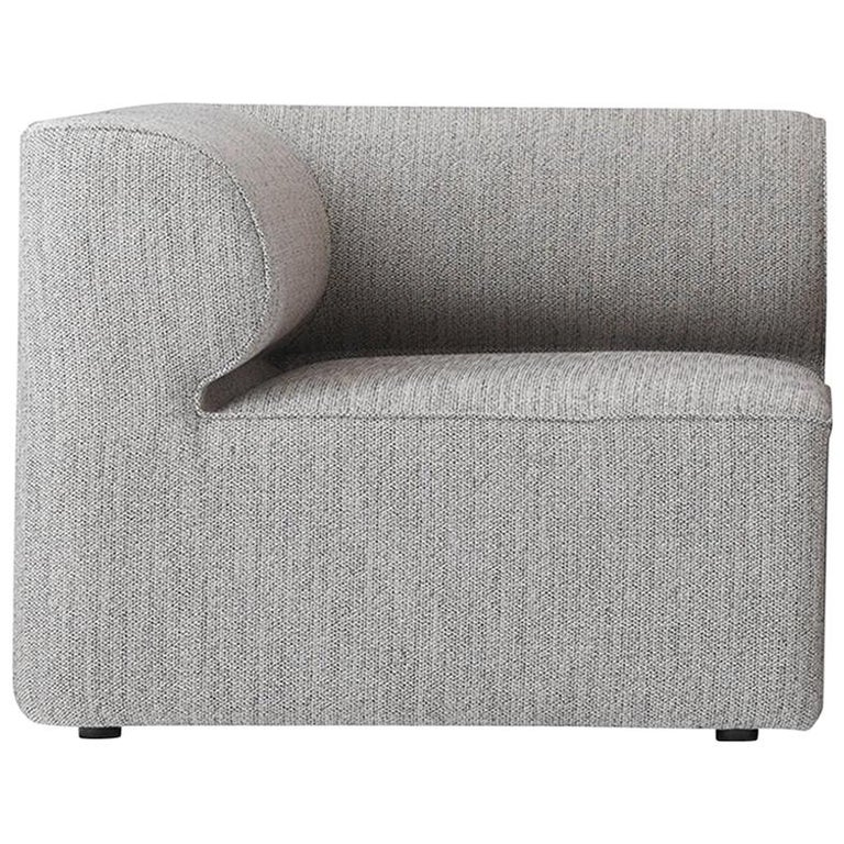Eave Modular Sofa, Corner, Grey Fabric For Sale at 1stdibs