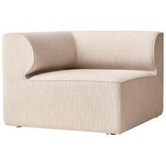 "Eave Modular Sofa, Corner, Kvadrat's ""Savanna"" 0202 'Cream'"