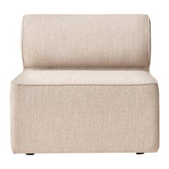 "Eave Modular Sofa, Middle, Kvadrat's ""Savanna"" 0202 'Light Grey'"