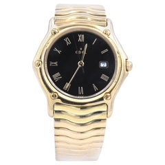 Ebel 18 Karat Yellow Gold Wave Watch Ref. 883909