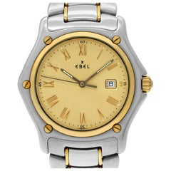 Ebel 1911 1911 BTR, Gold Dial, Certified and Warranty