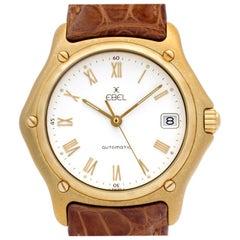 Ebel 1911 8255F41/6235134 18 Karat Auto Watch