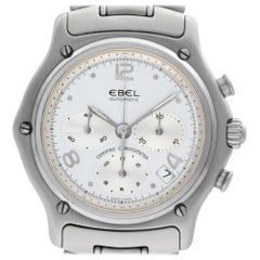 Ebel 1911 9137240 Stainless Steel Silver Dial Automatic Watch