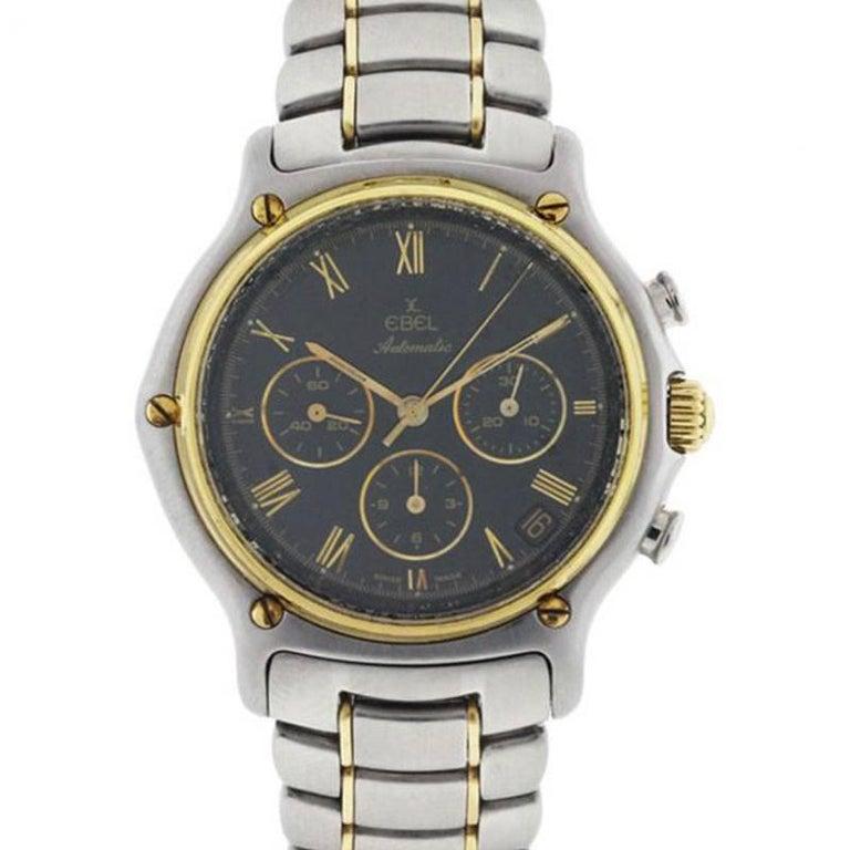 Ebel 1911 Chronograph Black Dial Watch