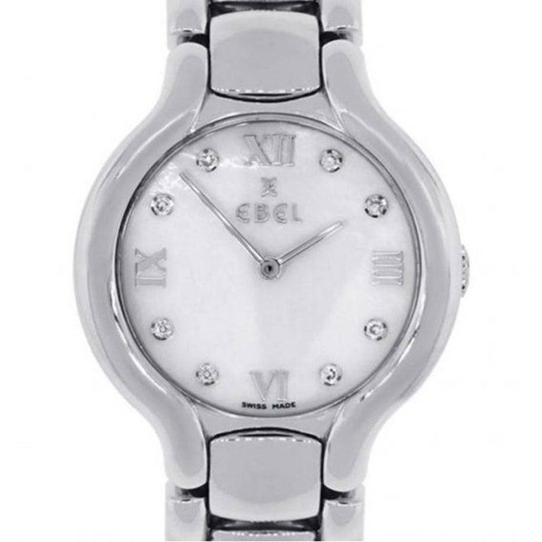 Ebel Beluga Diamond Dial Ladies Watch