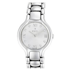Ebel Beluga E9157421, Silver Dial, Certified and Warranty