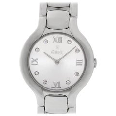 Ebel Beluga E9157421 Stainless Steel Silver Dial Quartz Watch