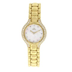 Ebel Beluga Mother of Pearl Diamond Dial Watch