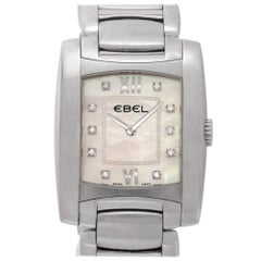 Ebel Brasilia Chronograph a125087, White Dial, Certified and Warranty