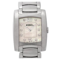 Ebel Brasilia Chronograph a125087, Case, Certified and Warranty