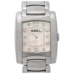 Ebel Brasilia Chronograph a125087, Gold Dial, Certified