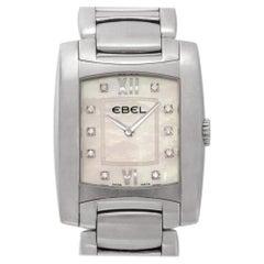 Ebel Brasilia Chronograph a125087, White Dial, Certified