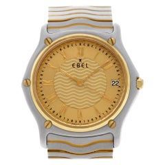Ebel Classic 1187f41, Blue Dial, Certified and Warranty