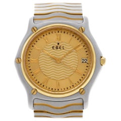 Ebel Classic 1187f41, Gold Dial, Certified and Warranty