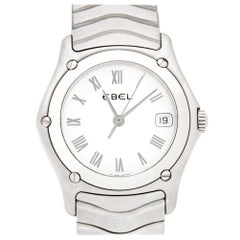 Ebel Classic 9087F21, White Dial, Certified and Warranty