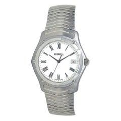 Ebel Classic Stainless Steel Men's Watch Quartz 9255F41/0125 'Old Stock'