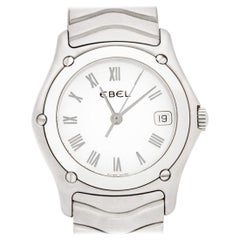 Ebel Classic Wave 9087F21 Stainless Steel Quartz Watch