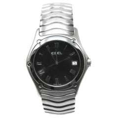 Ebel Classic Wave Senior Two-Tone Mens Swiss Watch # 1187F41 Certified Pre-Owned