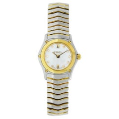 Ebel Classic Wave Steel and Gold Ladies Watch