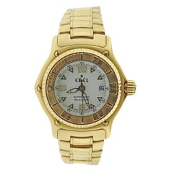Ebel Discovery Automatic Yellow Gold Watch E8172321