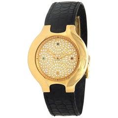 Ebel Lichine 18 Karat Yellow Gold Automatic Men's Watch 8080980