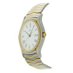 Ebel Sportwave 18 Karat Yellow Gold/SS with Diamonds 183903