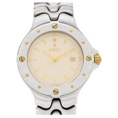 Ebel Sportwave 6087631 Stainless Steel Quartz Watch