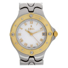 Ebel Sportwave e6187631, White Dial, Certified and Warranty