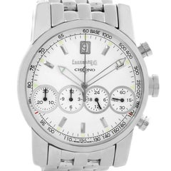 Eberhard Chrono 4 Stainless Steel Chronograph Men's Watch 31041