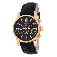 Eberhard & Co. Chrono 4 18 Karat Rose Gold Automatic Men's Watch 30058