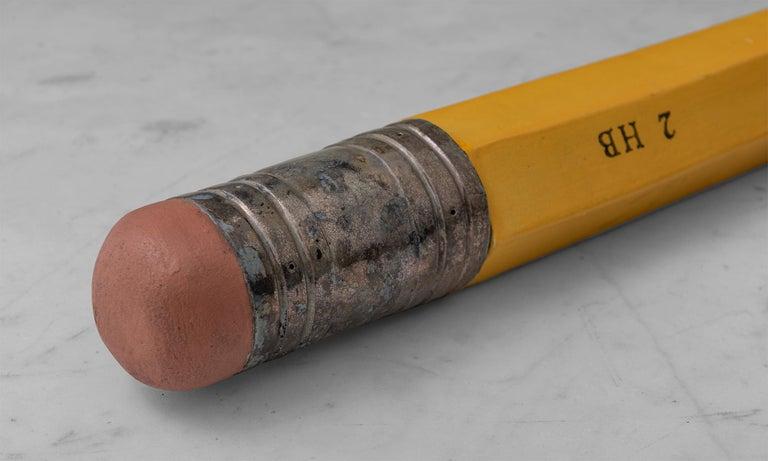 Contemporary Eberhard Faber Pencil Sculpture by Karen Shapiro, America 21st C For Sale