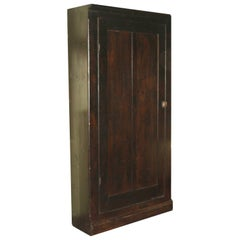 Ebonised American Pine Pantry Cupboard