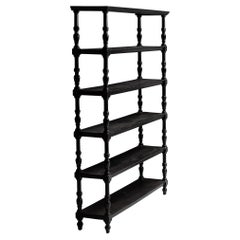 Ebonised Deed Rack, England circa 1890