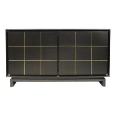 Ebonized American of Martinsville Credenza by Merton Gershun