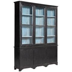 Ebonized Bookcase