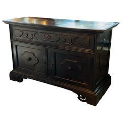 Ebonized Commode, Italy, 18th Century