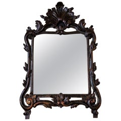 Hand-Carved Italian Antique Mirror