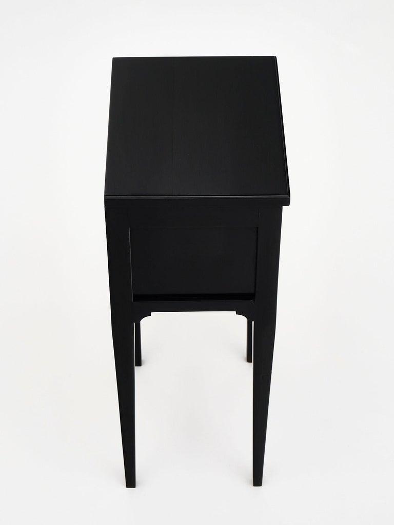 Ebonized Louis XVI Style Side Tables For Sale 1
