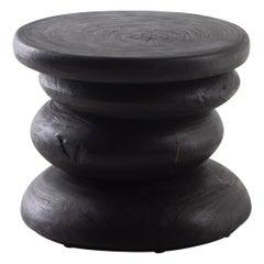 Ebonized Modern End Table