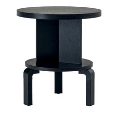 Ebonized Oak Andrè and 51B Side Table