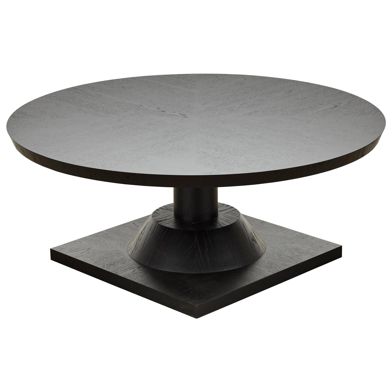 Ebonized Oak Morro Coffee Table by Lawson-Fenning