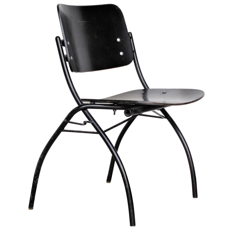 Ebonized Plywood Chair by Ilmari Tapiovaara for Thonet